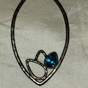 Satya Sterling Blue Topaz Pendant Necklace